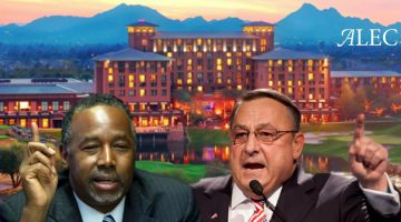 "Ben Carson and Paul LePage are featured speakers at ALEC's ""States and Nation Policy Summit"""