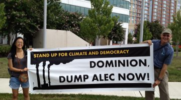 Dominion, Dump ALEC Now!