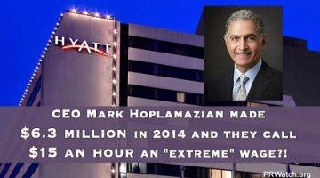 Hyatt's CEO Mark Hoplamazian