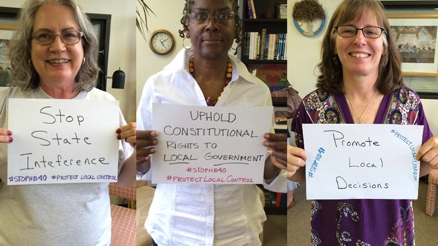 Denton, Texas, residents support local control over fracking