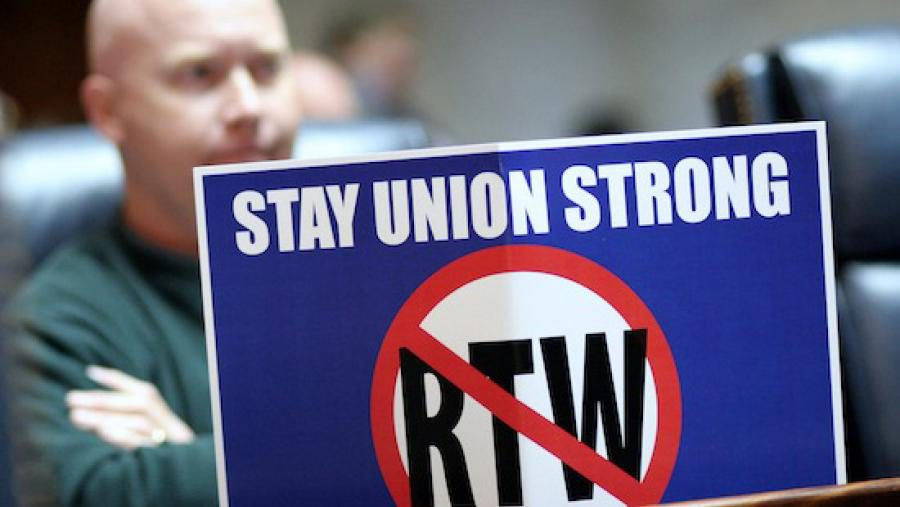 Stay Union Strong No RTW