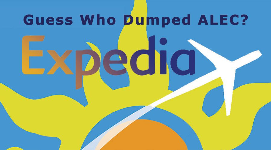 Guess Who Dumped ALEC? Expedia
