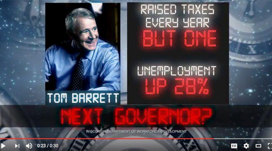 WMC Tom Barrett Next Governor Ad