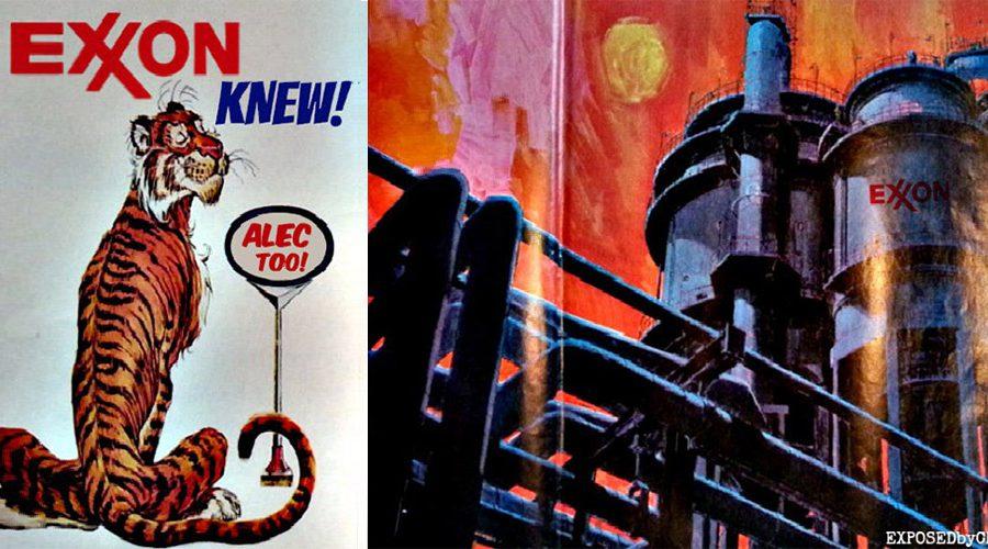 Exxon knew, ALEC too!