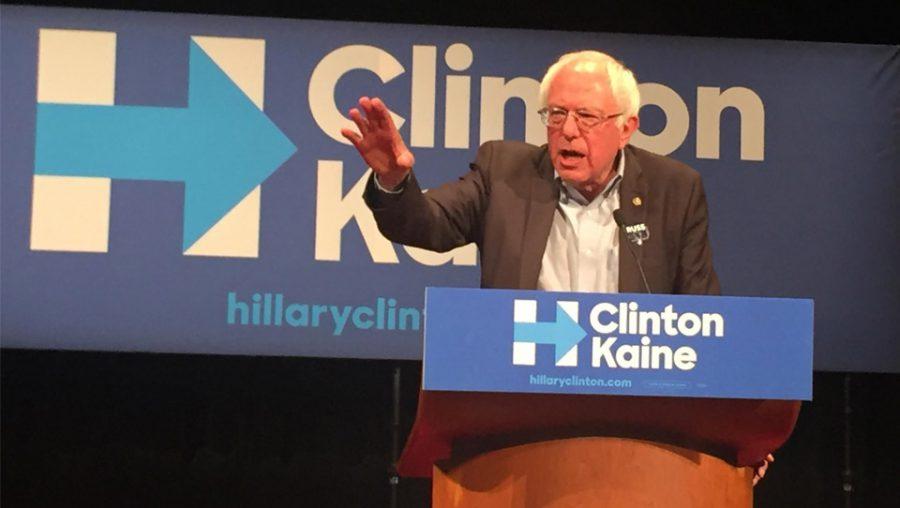 Bernie Sanders in Madison for Clinton/Kaine