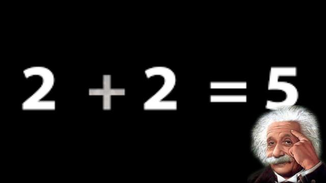 2 plus 2 equals 5