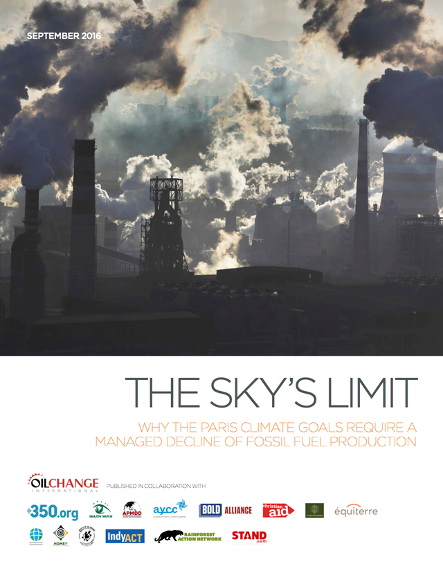 The Sky's Limit Front Cover