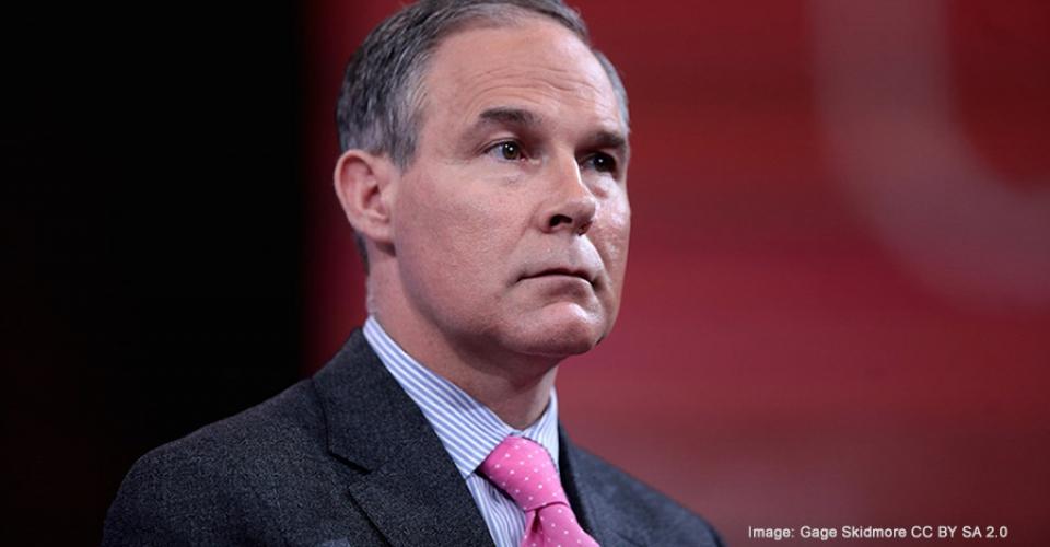 Scott Pruitt: Trump's Pick for EPA