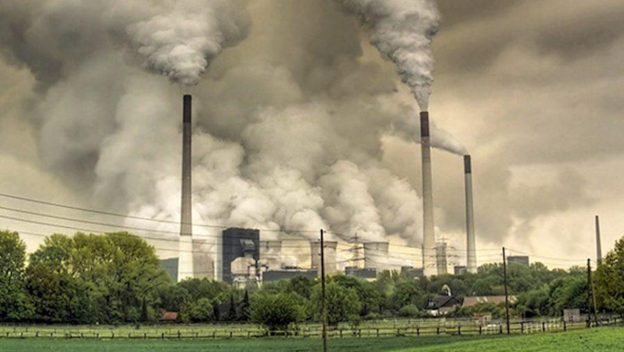 Coal smoke stacks