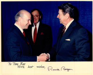 Thomas Roe and Ronald Reagan