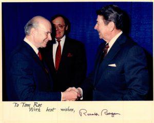 Thomas Roe and Ronald Reagan