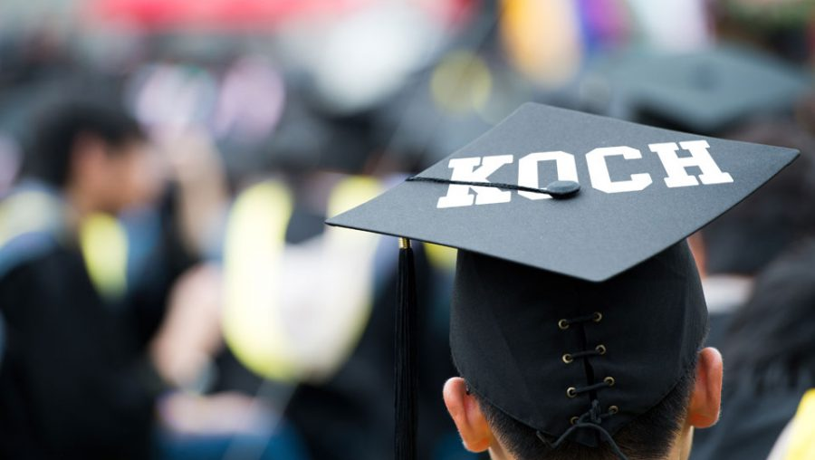UnKoch My Campus - mortar board