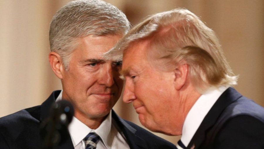 Neil Gorsuch and Trump