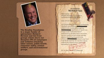 Bradley Foundation Bankrolls Front Groups of Discredited PR Spin Doctor Richard Berman