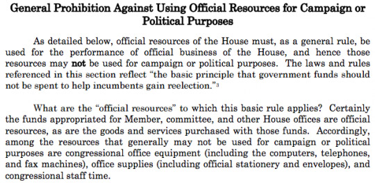 house ethics manual snippet