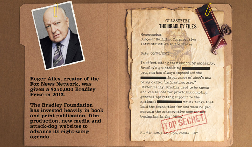 Bradley Foundation Funds Right Wing Media Machine