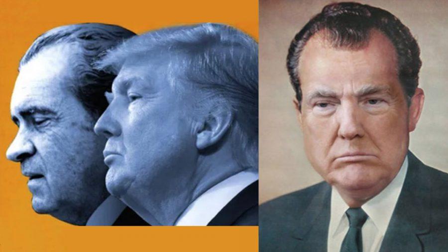 Trump into Nixon