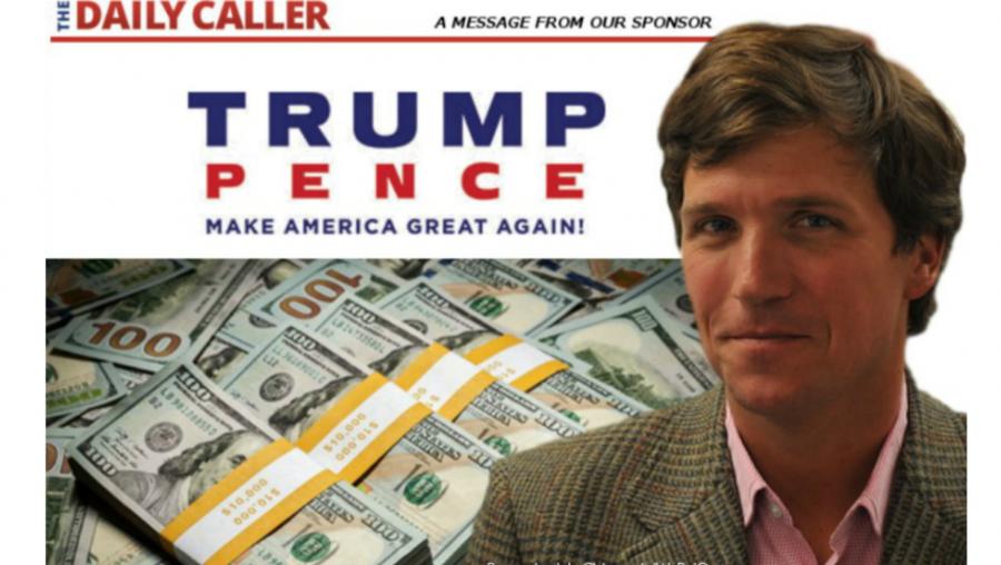 Tucker Carlson Trump Pence Daily Caller