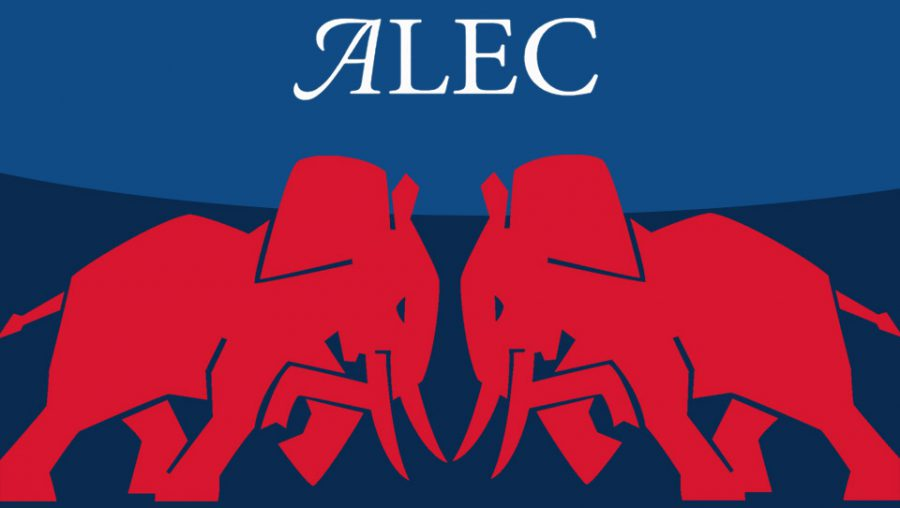 Red elephants ALEC logo