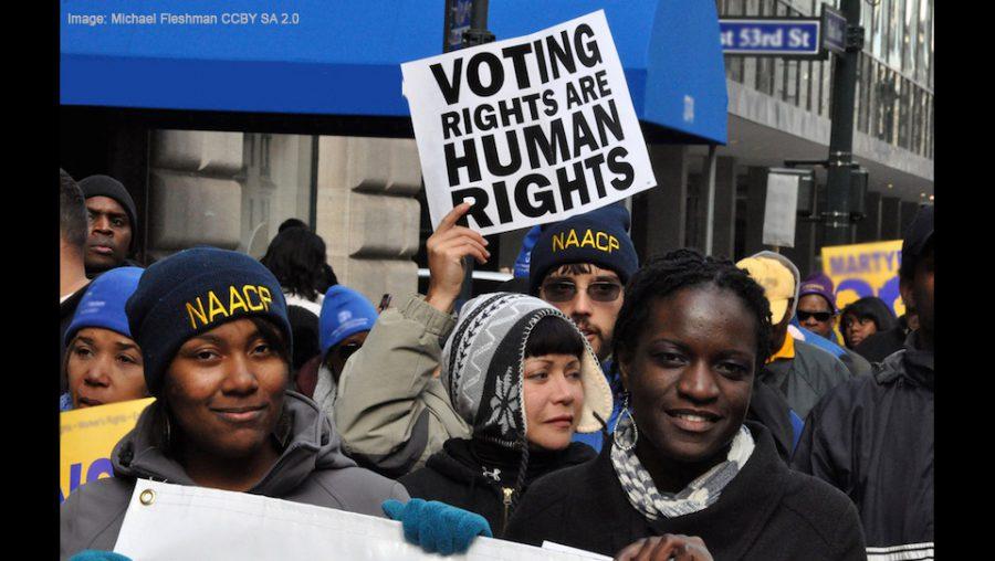 voting rights CC BY SA 2.0 Michael Fleshman