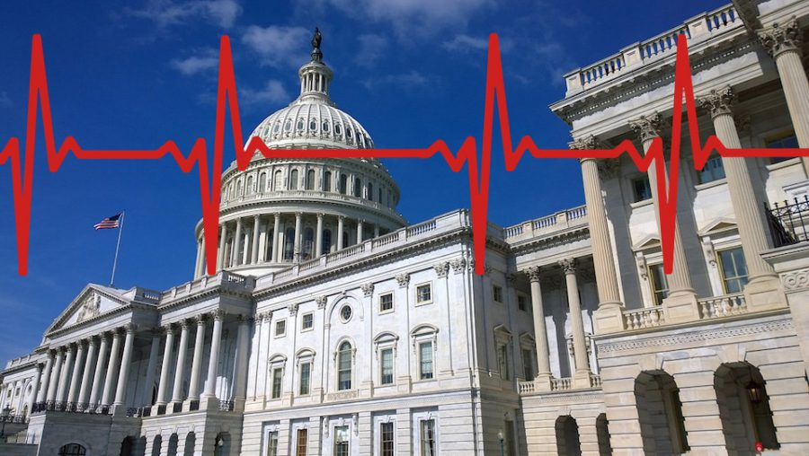 United States Capitol - heartbeat