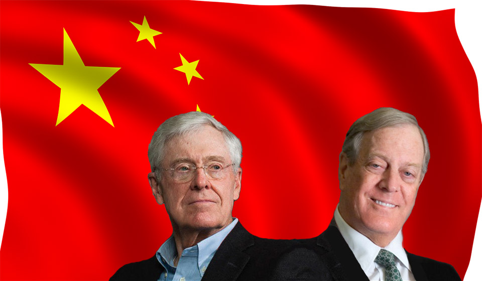The Koch Brothers Purchase a Stake in SINA, the Chinese Telecommunication Company