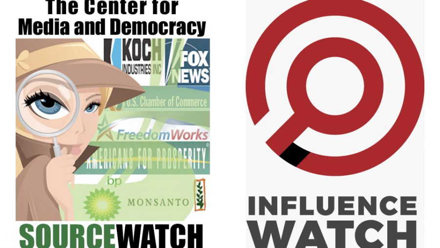 SourceWatch vs Influence Watch