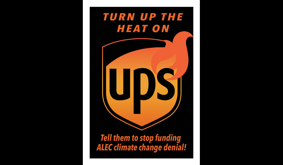Credo Delivers Petition to UPS Demanding that It Drop ALEC