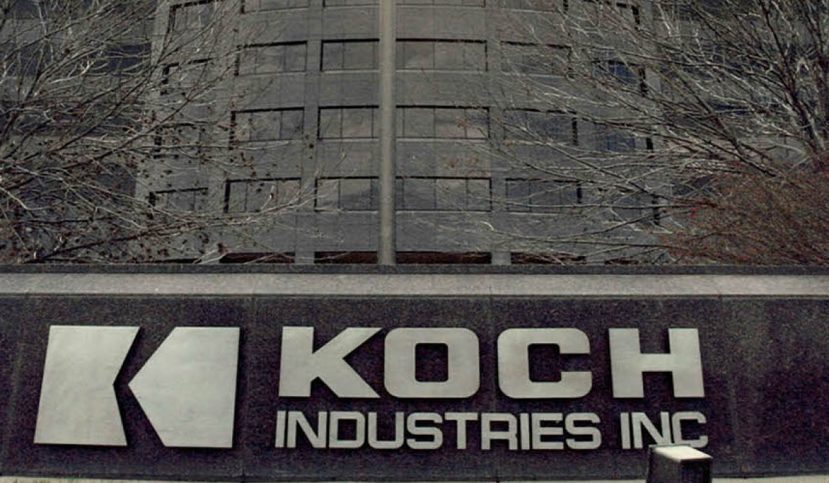 Koch Industries' Federal Lobbying Rose 35 Percent in First Quarter of 2019