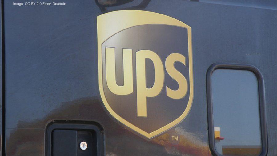 UPS shield logo