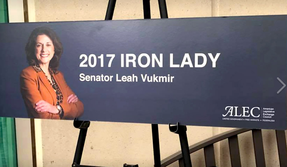 """Wisconsin GOP Just Nominated ALEC's """"Iron Lady"""" to Take on Tammy Baldwin"""