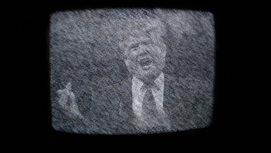 Trump TV static