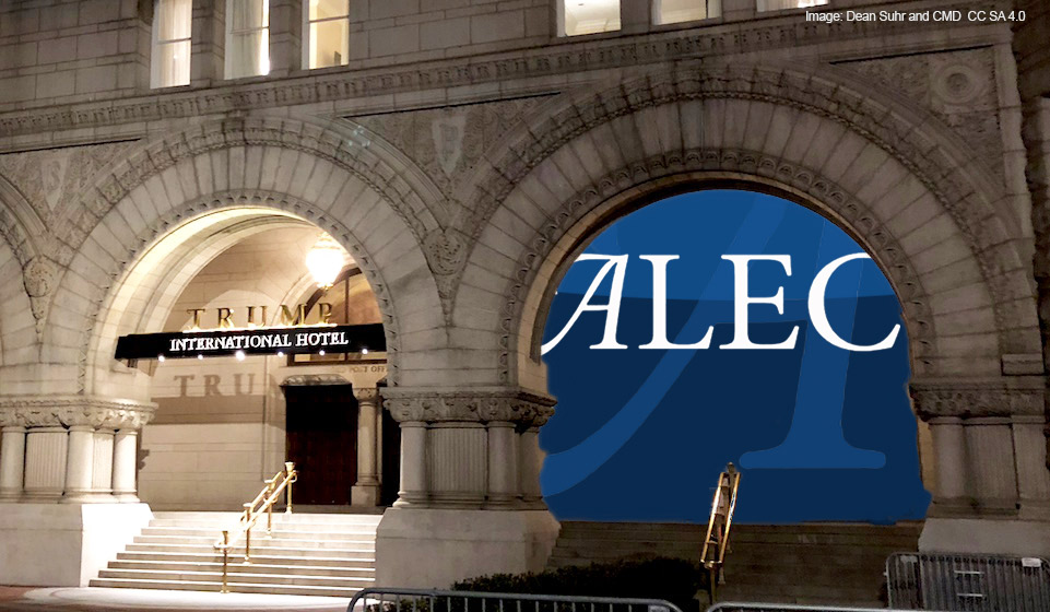 """""""Nonpartisan"""" ALEC Will Celebrate 45th Gala with GOP Stars and Lobbyists at Trump Hotel"""