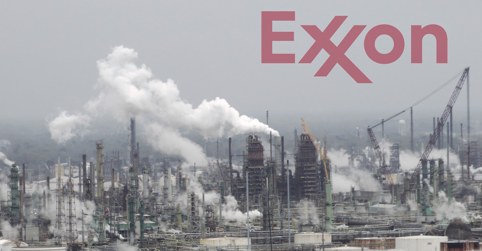 Exxon Faces Consequences for Climate Denial