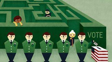 ALEC-Backed Legislators Behind Suppressing Vote