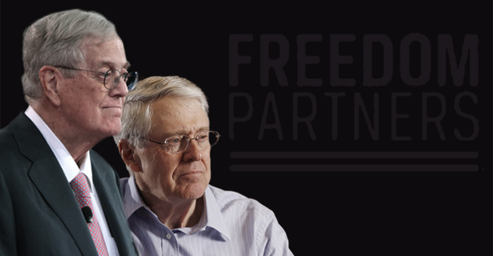 The Koch Brothers' Freedom Partners Group Spends $115.2 Million in 2017
