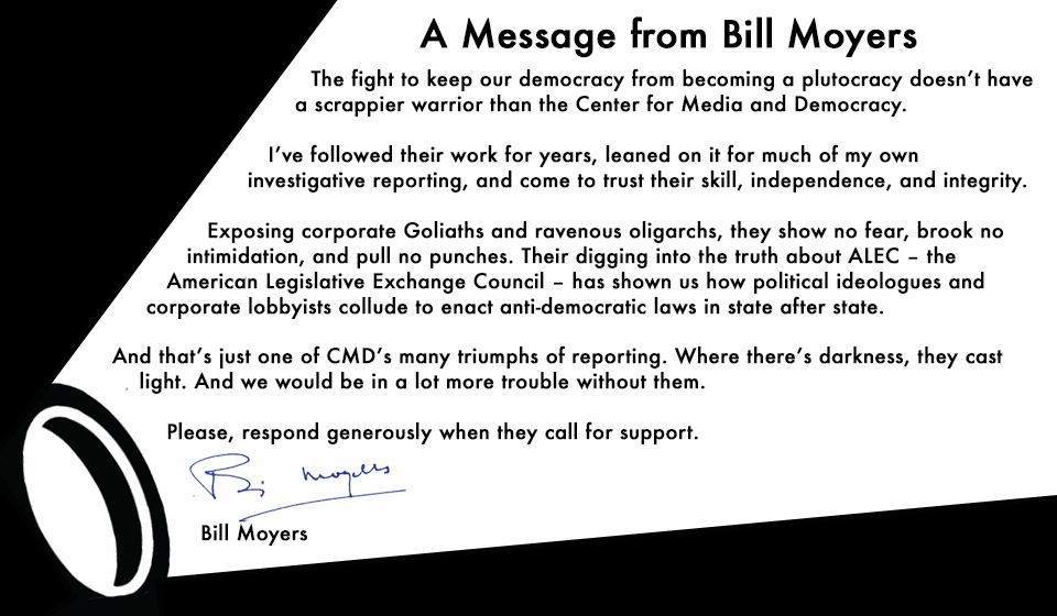 A Special Message from Bill Moyers