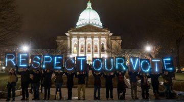 Respect Our Vote-Light Brigade