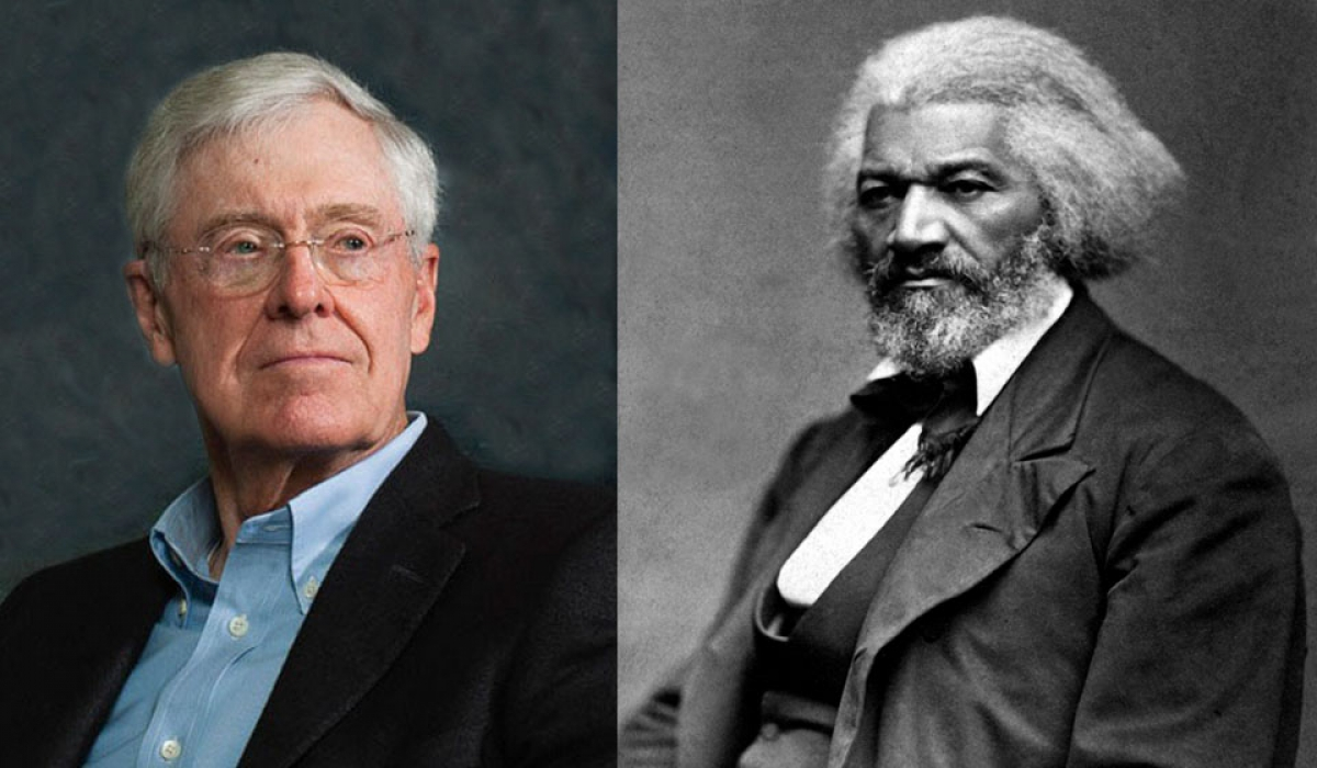 "Koch Kumbaya: The Billionaire Industrialists Appropriate Frederick Douglass, Pledge to ""Do Right"""