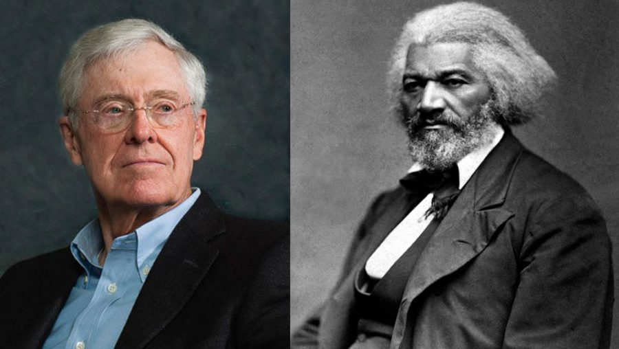 Charles Koch and Frederick Douglass