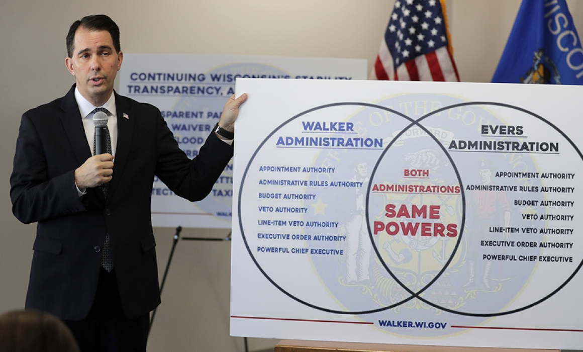 Wisconsin GOP's Lame-Duck Power Grab Ruled Unconstitutional