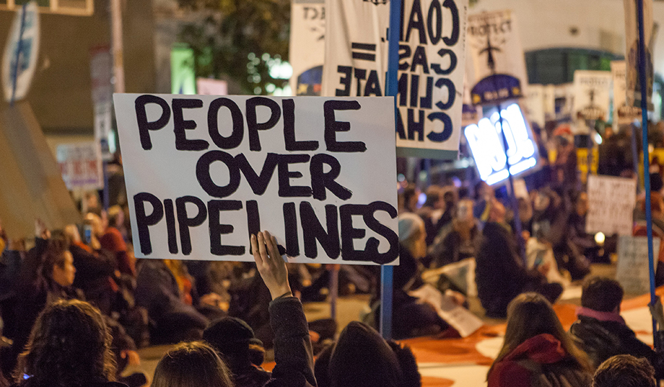 "State Bills to Criminalize Peaceful Protest of Oil & Gas ""Critical Infrastructure"""
