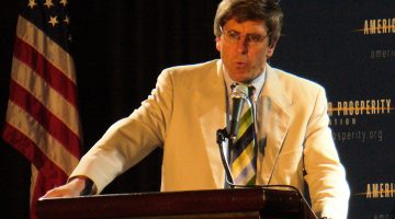 Stephen Moore speaking at Americans for Prosperity Foundation event in 2008