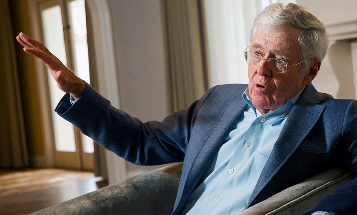 """This is Extortion"":  Koch Industries Gets Another Tax Break"