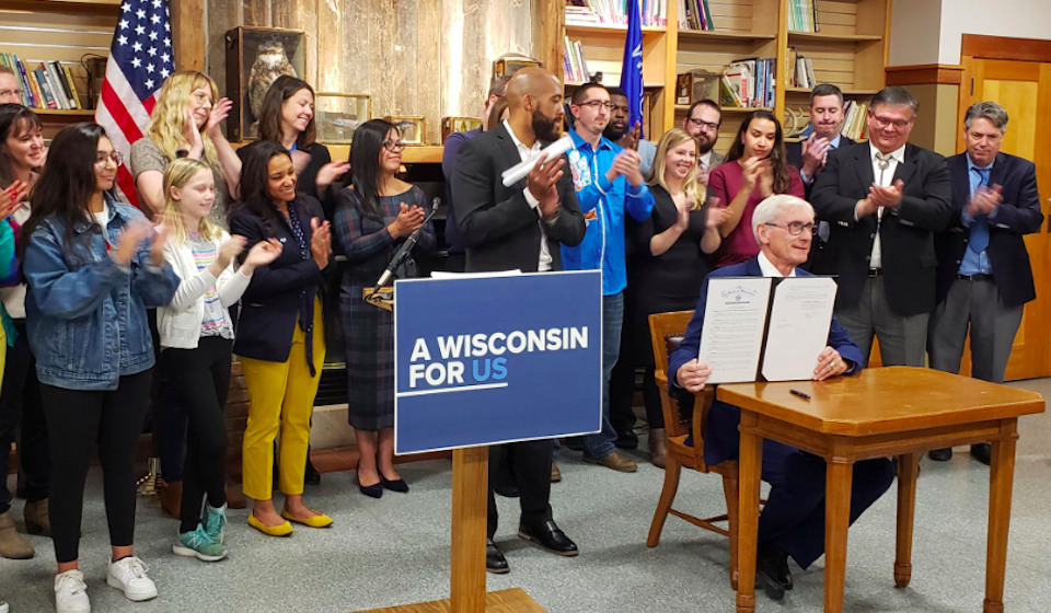 Wisconsin Governor Evers Signs ALEC-Inspired Bill to Criminalize Protest