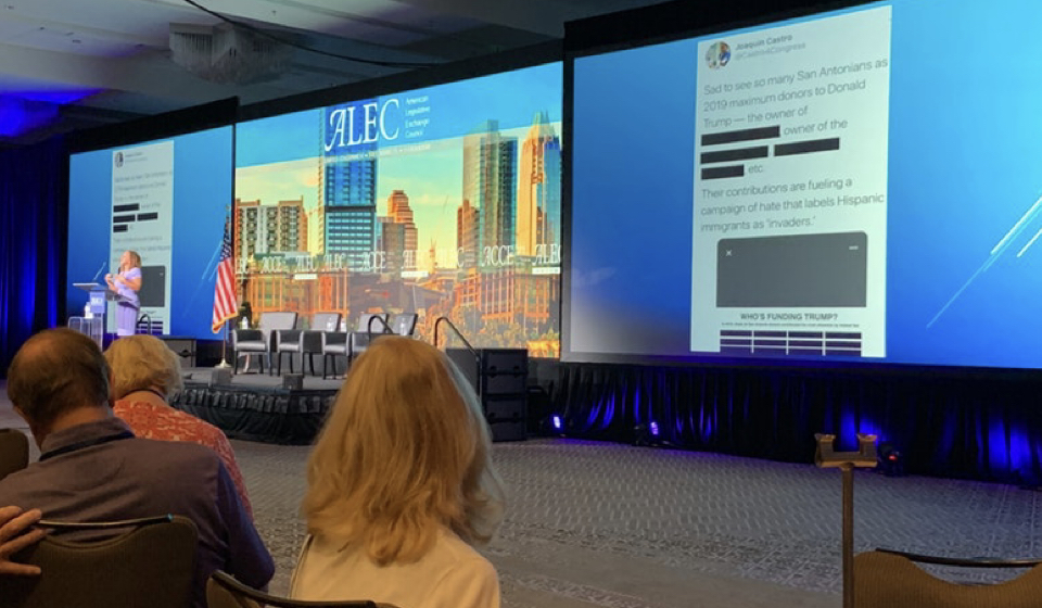 Gerrymandering, Elections, School Privatization, and More on the Agenda as ALEC meets in Arizona