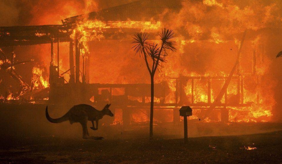 Australia, your country is burning - dangerous climate change is here with you now