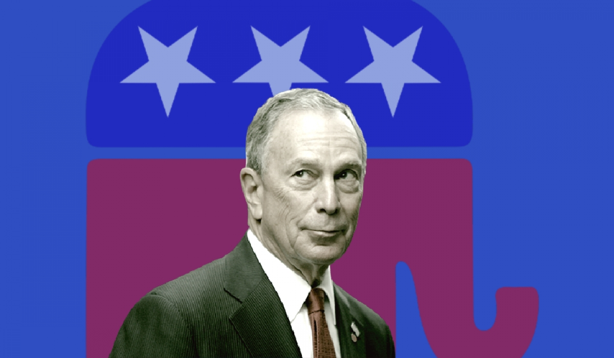 Democratic Presidential Candidate Michael Bloomberg Is a GOP Bankroller