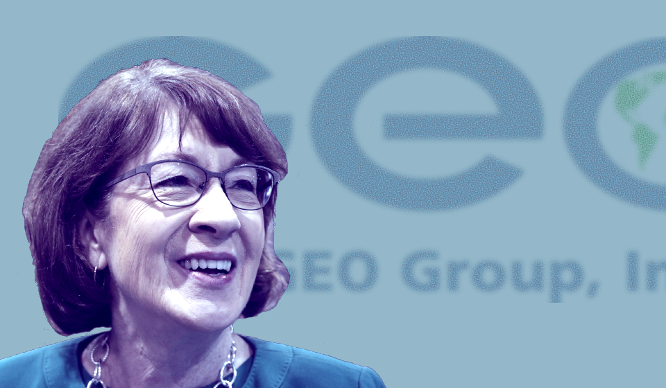 Private Prison Giant GEO Group Gives to Super PAC Backing Susan Collins