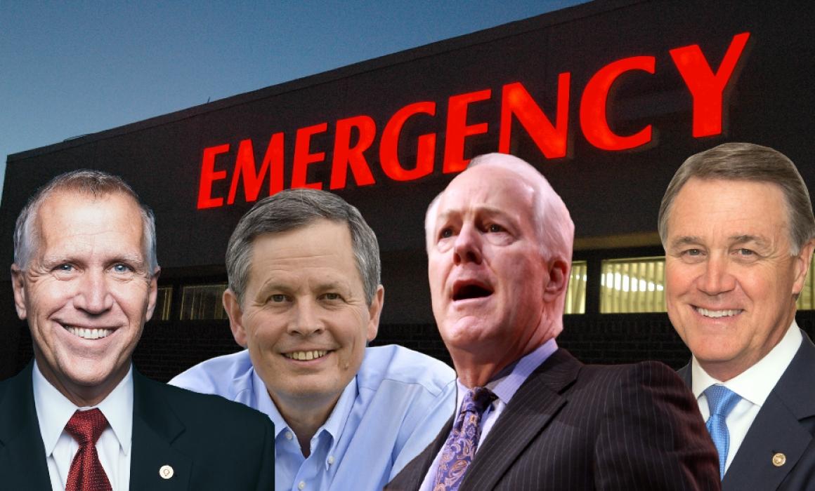 """Koch Super PAC Touts GOP Senators' Support for """"Junk"""" Insurance Plans"""